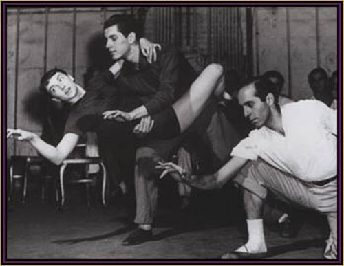 Jerome Robbins Jazz Dance West Side Story