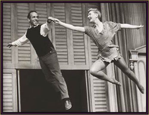 Jerome Robbins and Mary Martin